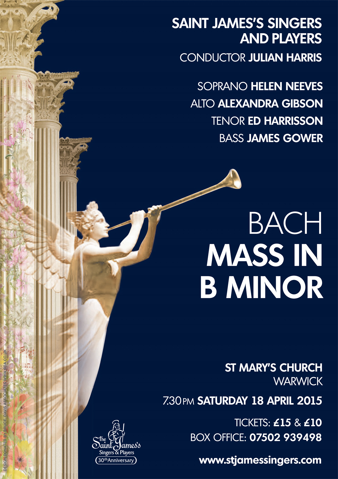 Bach - Mass in B Minor - 18 April 2015 - The St  James's Singers