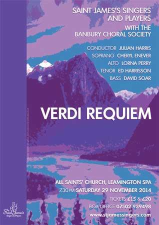 Verdi Requiem 29 November 2014