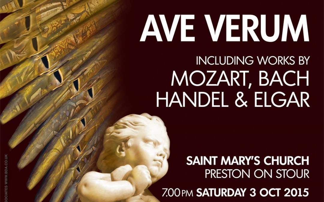 Ave Verum – 3 October 2015 – Preston on Stour