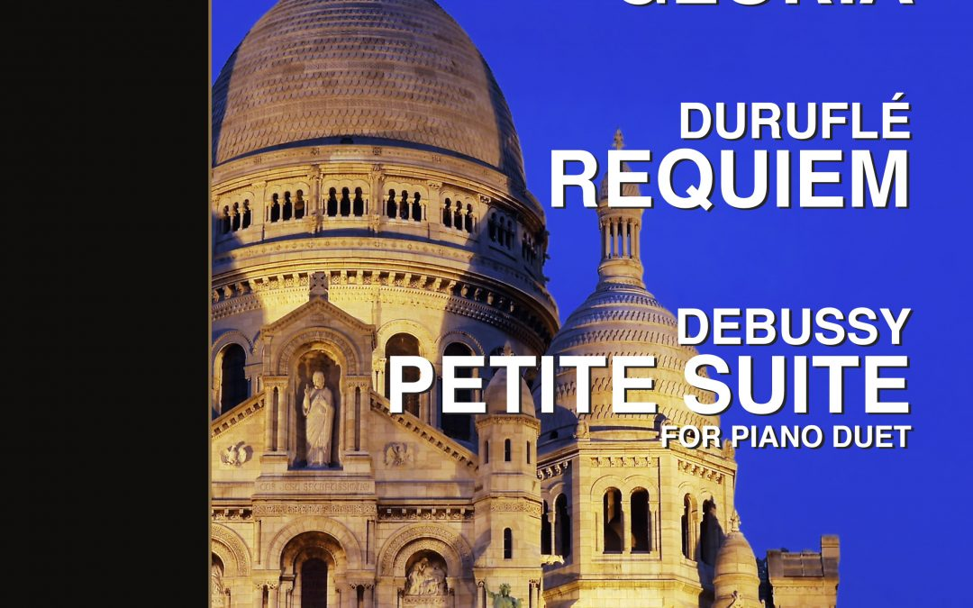 Duruflé, Poulenc and Debussy – April 2019